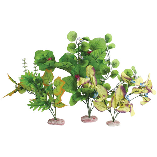 Color Burst Florals Broad Leaf Flowering Cluster Multi Pack - 7-14 in.