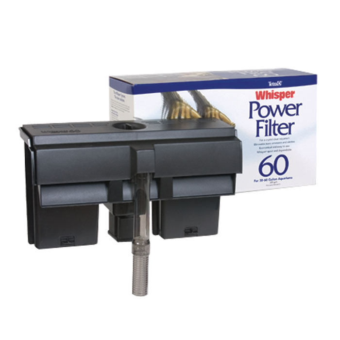 Whisper 60 Power Filter - Up to 60 gal.