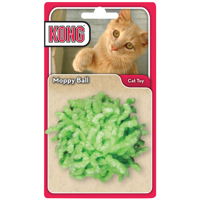 KONG Moppy Ball Cat Toy - Assorted