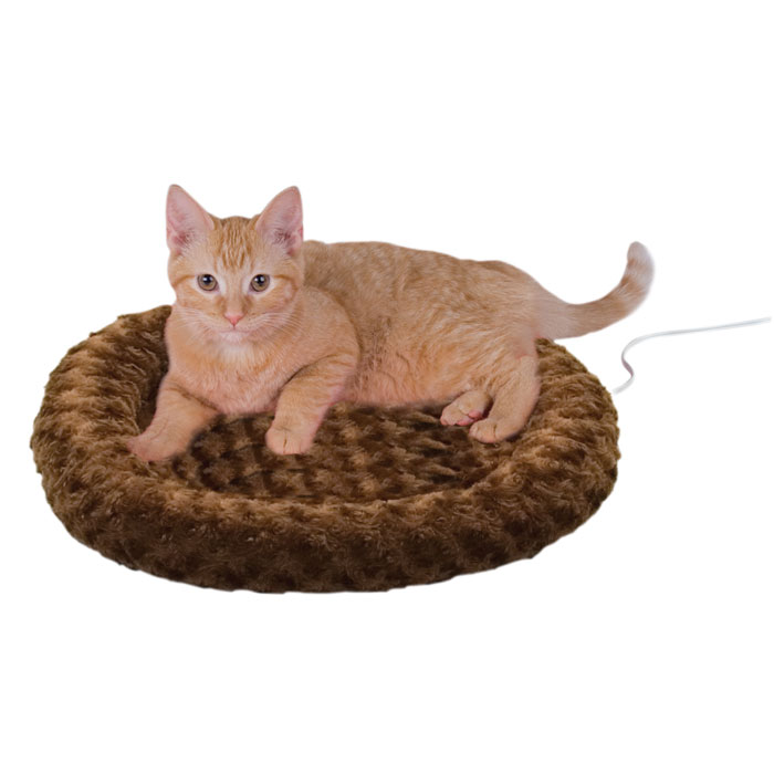 Thermo Kitty Bed - Fashion Splash - Mocha - 18 in.