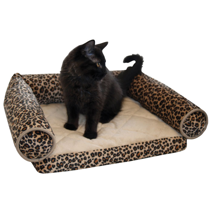 Lazy Lounger for Pets - Leopard - 20 in.