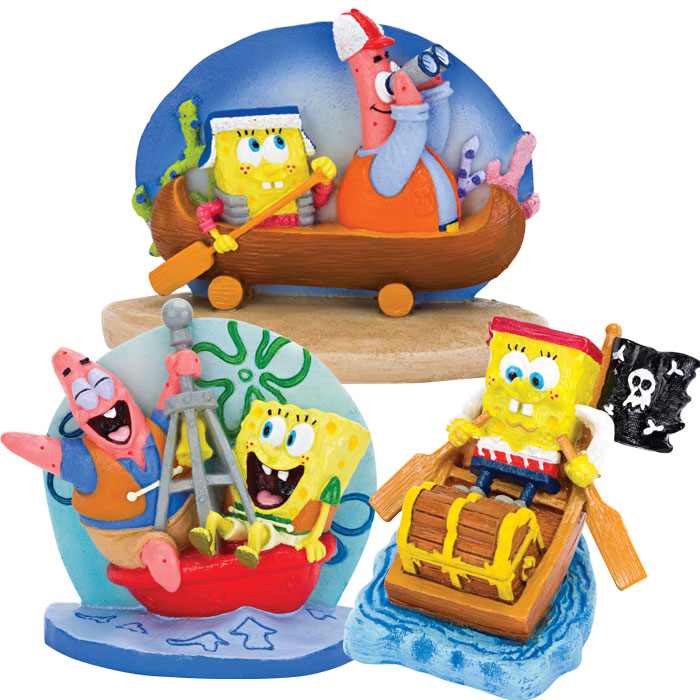 Sponge Bob Aquarium Ornaments