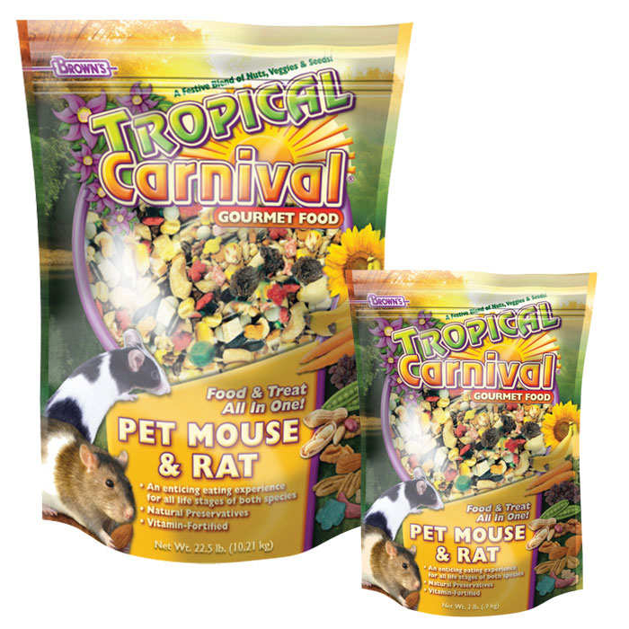 FM Brown's Tropical Carnival Gourmet Food for Mice & Rats