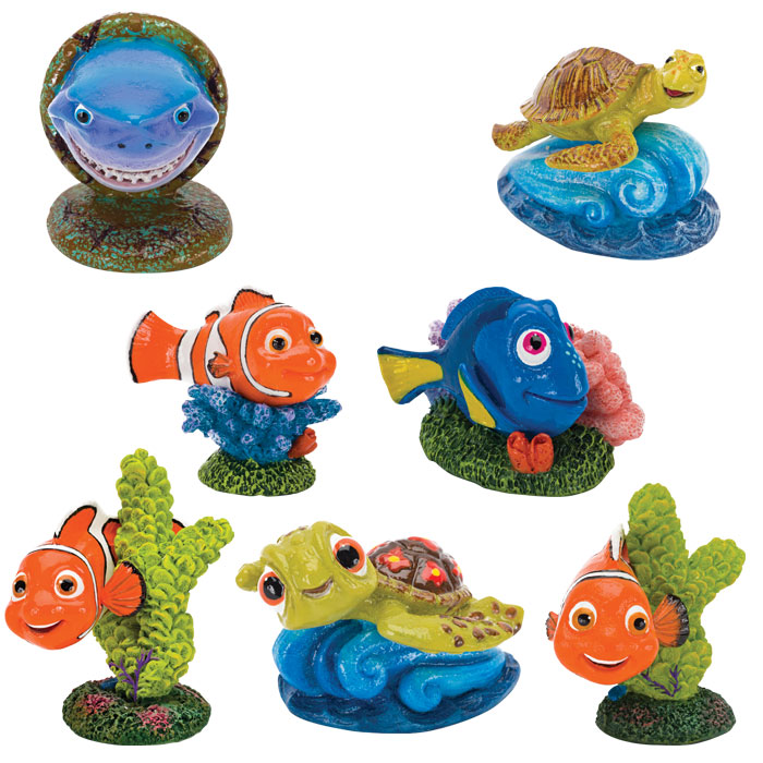 Finding Nemo Resin Aquarium Ornaments Mini