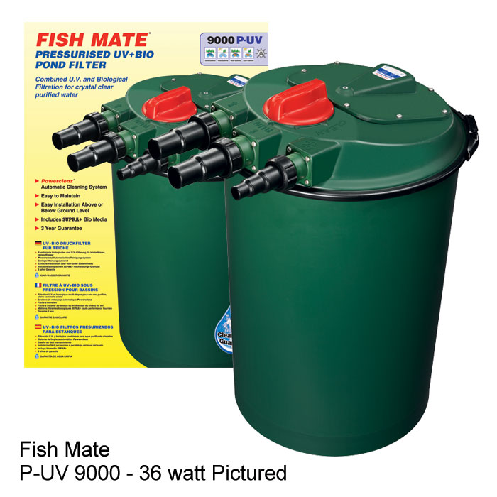 Fish Mate External Pressurized Bio and UV Pond Filters
